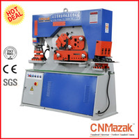 CNMazak Brand Q35Y-16 wrought iron machine, Multi Function Ironworker Punching Machine