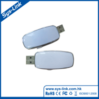 ABS case +doming label logo USB Flash Drive