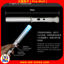 New Design Hot Sale Low Price Flexiable Glow Sticks Manufacturer China 2017 Battery Operated LED Stick