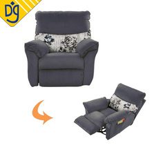 Factory direct sale rotatable modern single recliner chair sofa bed