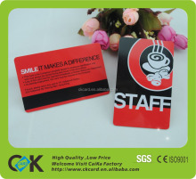 high quality fancy customized pvc card/machine making id card