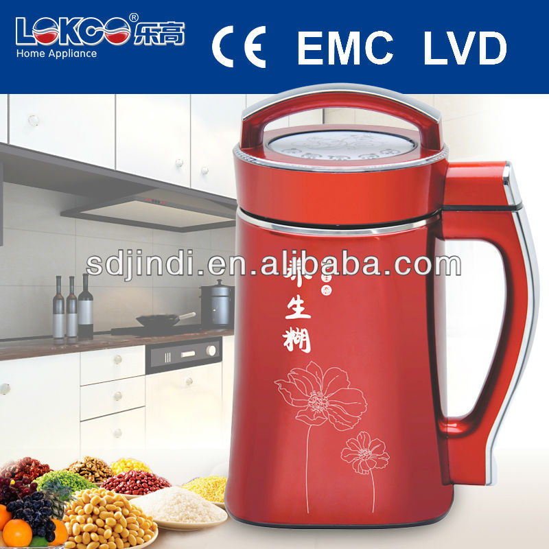 High quality soymilk maker/automatic used juicer with CE,CB,RoHS approval