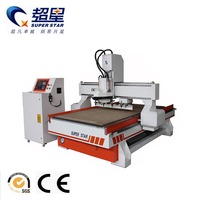 Jinan M25H CNC woodworking machine with 8 tools changer automatically