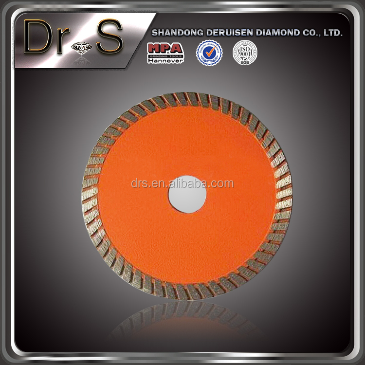 4 Inch Cold Pressed Diamond Saw Blade Wet Or Dry Cutting