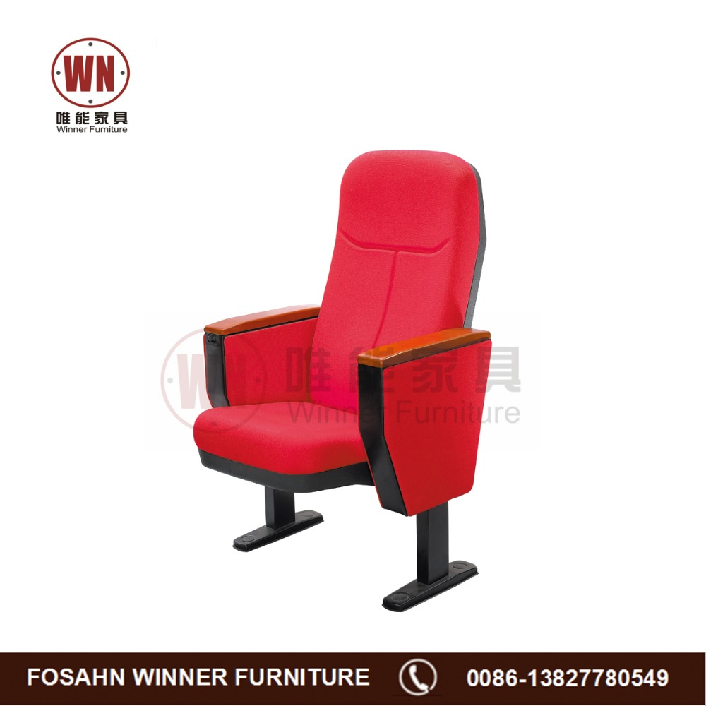 High quality cinema chair with writing pad series W76