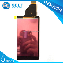 factory price for sony xperia zr display lcd screen, touch display digitizer lcd for sony xperia zr c5502 c5503