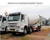 SINOTRUK HOWO 6X4 8 Cubic Meters Concrete Mixer Truck