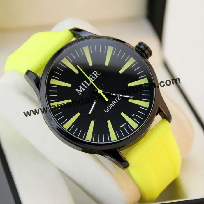 2013 The Vogue Silicone Wrist Watch With Colorful Watchband, Excellent Disign,Good Quaity And Good Service.