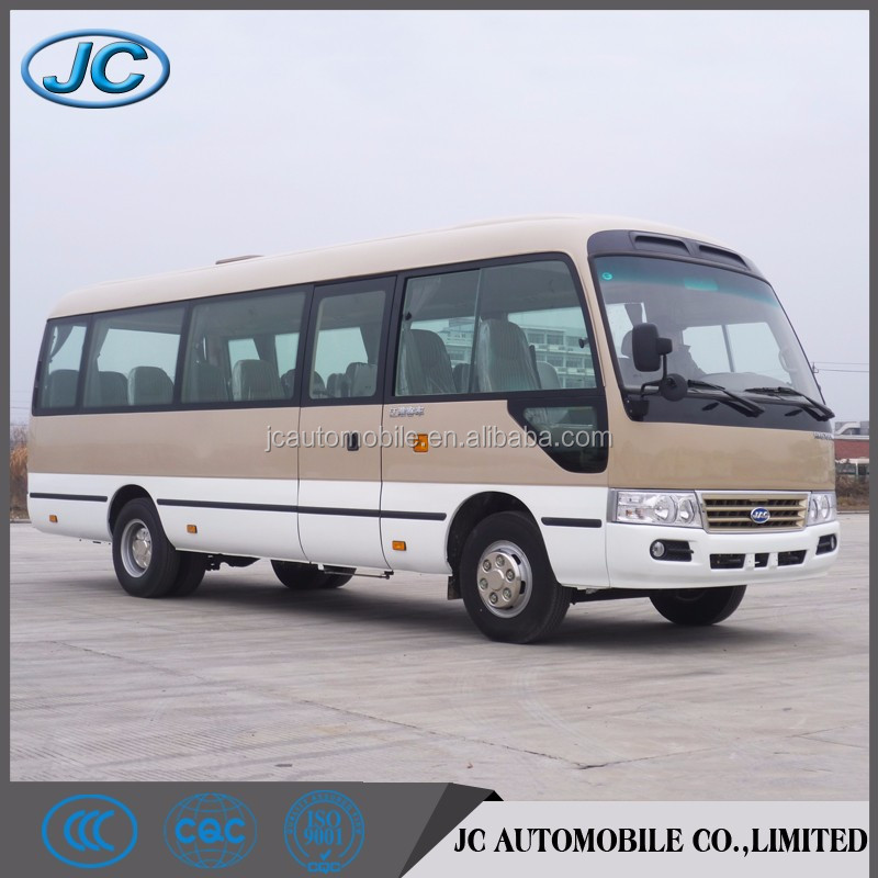 RHD 30 seater coaster type mini bus with air conditioner for sale