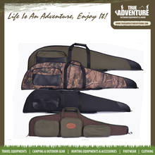 "True adventure Hunting Accessories Stock 50"" 52"" shockproof rifle carrying case gun bag"