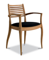 Modern dining chair solid wood chair CH895