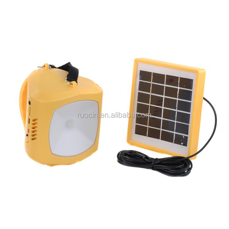 1.5W Solar Panel To Charger USB Mobile Phone Charging Outdoor Light