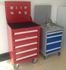 China Luoyang metal drawer cabinet workshop steel tool box cabinet with tools