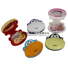 kaida K-1603 Plastic Cute Fashion Contact Lens Case Containers for contact lense Len Case contact lens storage case