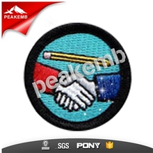 Patches manufacturer use High quality material to make iron on Embroidery Patches