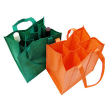 china factory MJC-145885 non woven wine bags shopping bags hand wine bags