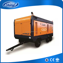 750cfm SLCY 238kw 325Hp14bar portable Diesel Screw Air Compressor