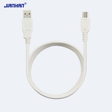 1M mini usb 2.0 male short cable for mobilephone radio sync & charging cable