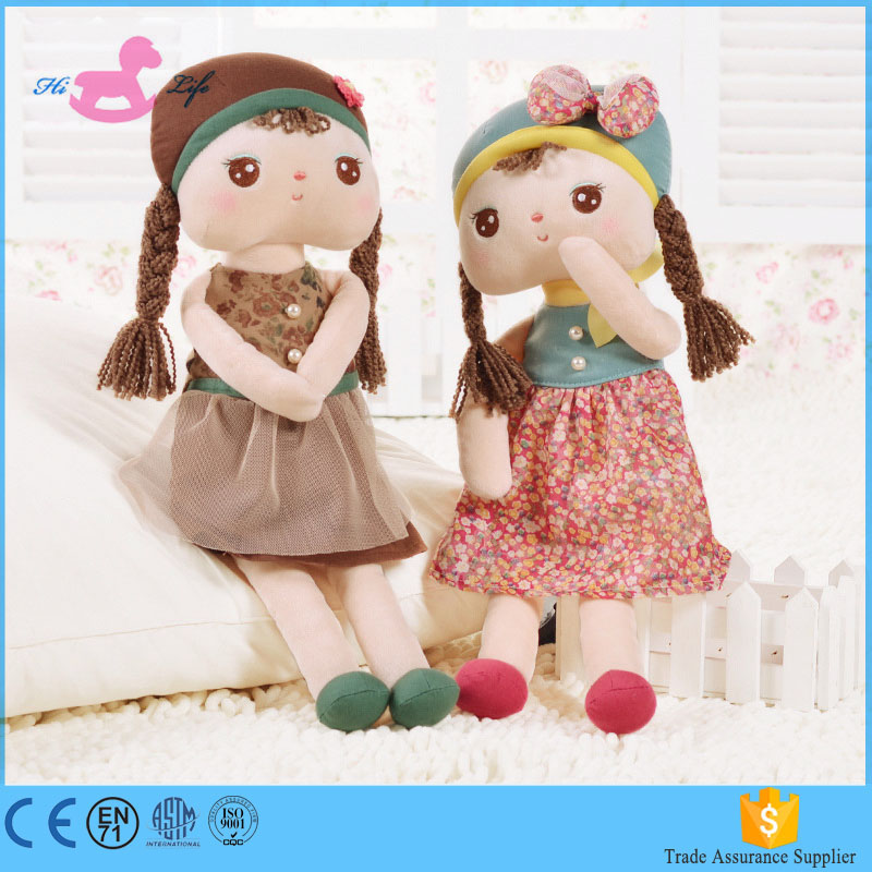 Alibaba wholesale cute rag doll handmade