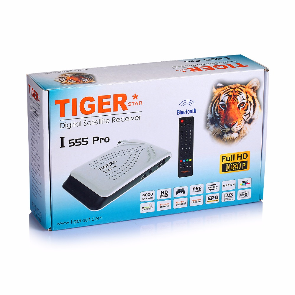 Mini HD Media Box 1080P Tiger Receiver I555 Pro Set Top Box MPEG4