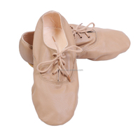 2016 Wholesale High Quality Split Sole Leather Jazz Dance Shoes