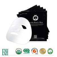 ERH oem whitening hydrating dark spot remover extract herbal skin care face mask brand