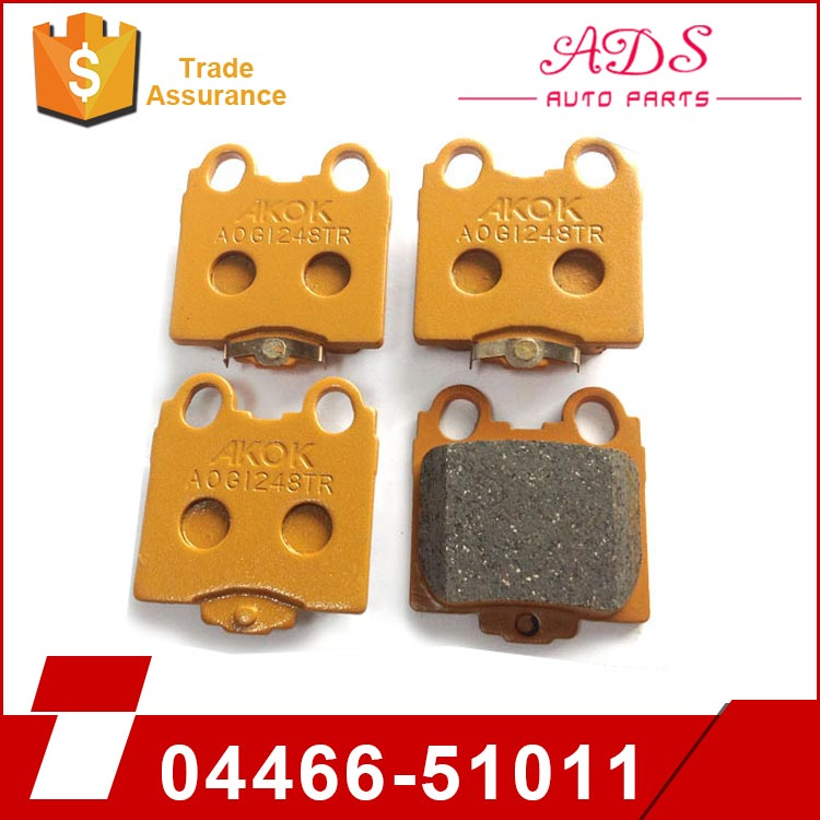 Heavy auto top quality availabled brake pad for Lexus IS300 / GS400 / GS430 / JZS160 04466-51011