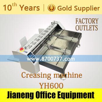 how to make paper creasing machine