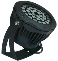 IP65 Black LED Spotlight 72W Aluminum Spotlighting LED Landscape Spotlight with 2 years warranty