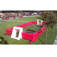 Top Inflatable Soccer Field Football Pitch On Sale Inflatable