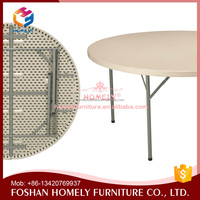 HOMELY plastic folding round tables