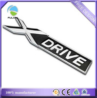 Colorful Emblem Car Metal Logo With Names