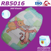 Competitive Price Disposable Baby Waterproof Waterproof Pant Diaper Manufacturer from China