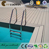 Durable Swimming Pool Deck WPC Material