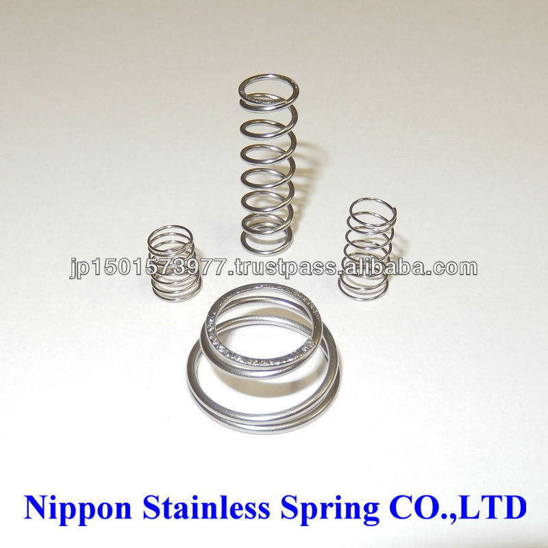Specialty materials coil spring that can be used in an environment of seawater made of hastelloy c276 price down made in Japan