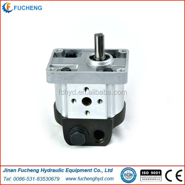 construction machinery parts original 2APF Series hydraulic gear pump use for XCMG truck crane