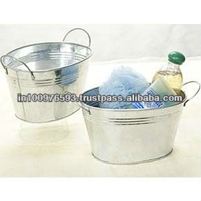 Galvanized Tub Beer pail