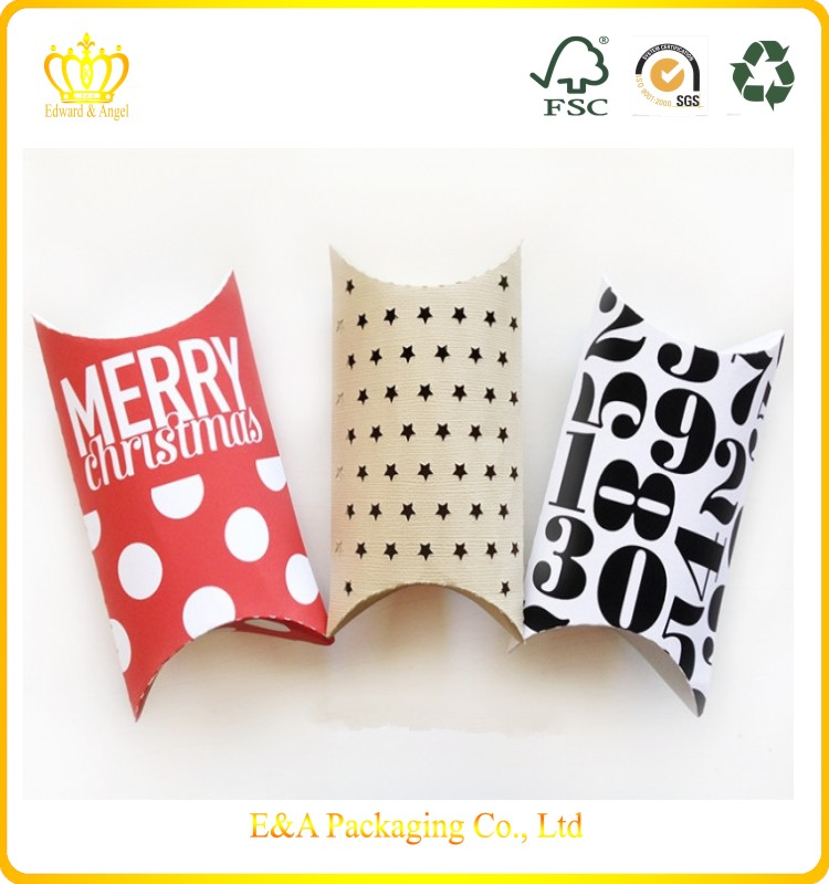 2016 E&A customised high quality large pillow gift boxes