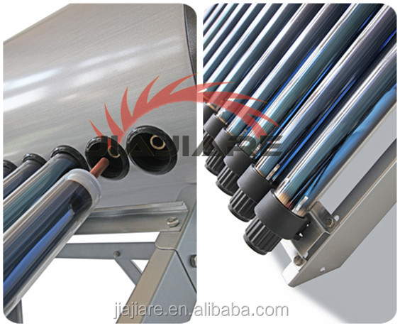 2016 Pressurized Heat Pipe Solar Water Heater , Heat Pipe Solar Collector