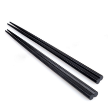 New Arrival Eco-friendly Black Solid Wood Chinese Chopsticks Wooden Tableware Japanese Wooden Chopsticks