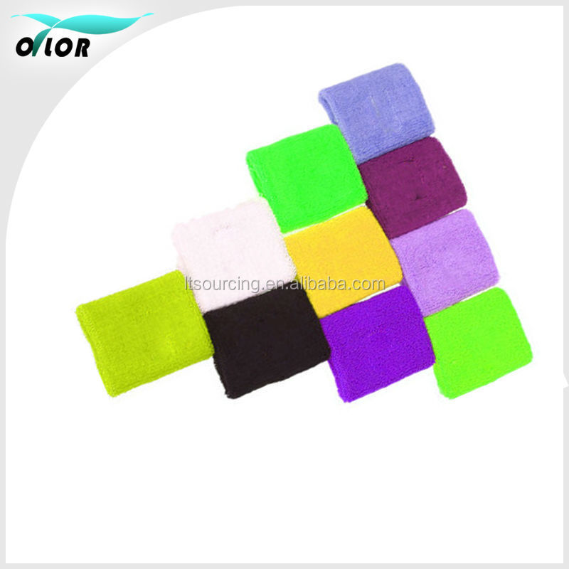 Wholesale Sports men / women Basketball Badminton Tennis Wristbands band Wrist sweat towel warm elastic Wristbands athletes