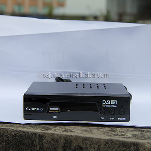 2015 New High Sensitive Top Class manufacturing price professional DVB-T2 Receiver 1080P Full HD MPEG4/ H.264 PVR