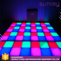 Wedding Equioment 30 Channels Master Control China Make Stage Interactive Light Used Led Dance Floor For Sale