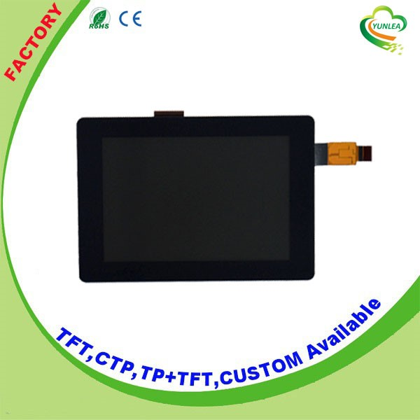 "320x480 dots touch screen lcd display 3.5"" with I2C interface Yunlea"