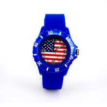 Minimalist Lower MOQ Wholesale 2018 World Cup USA Flag Design Watch