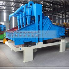 Fine Sand Recycle Machine with Pressure Pump,hydrocyclone and dewatering screen