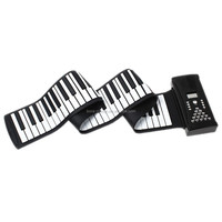 88 keys roll up piano electronic piano keyboard with MIDI