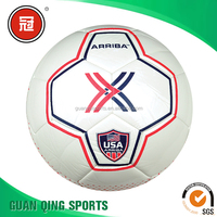 Eco-friendly TPU leather machine stitch soccer ball for training and match