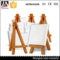 for kids mini wooden display easel