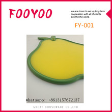 FOOYOO FY-001 FUN SHAPED FOOD SAFE ANTI-BACTERIAL PP PLASTIC THIN CHOOPING BLOCK CUTTING BOARD